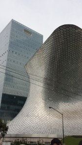 Museo Soumaya, which contains a lot of sculptures by Rodin