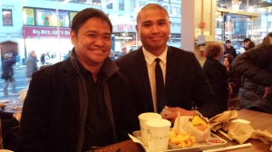 Raymund and Danon, friends since 2006, when Danon joined FORMDEV as a faci