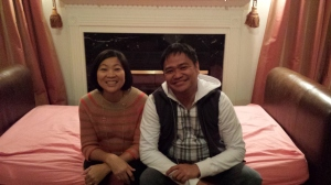 Raymund and Catherine, friends since second year high school