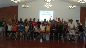With the NLCC Course Design Committee (CDC) members at Balay Indang, Cavite (June)