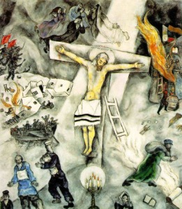 White Crucixion by Chagall, Pope Francis' favorite painting.