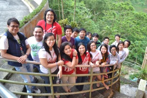 With FORMDEV facis at the retreat center in Batulao (December)