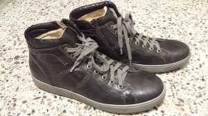 My favorite pair of shoes -- Nero Giardini leather trainers