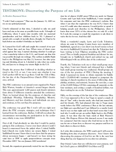 TSW - Newsletter - Vol 4 Iss 2-3 My Testimony