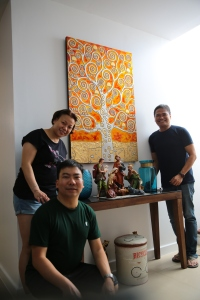 With inaanak sa kasal, Tessie and Philip
